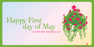 Happy May 1st ecard
