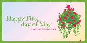 Happy May 1st ecard