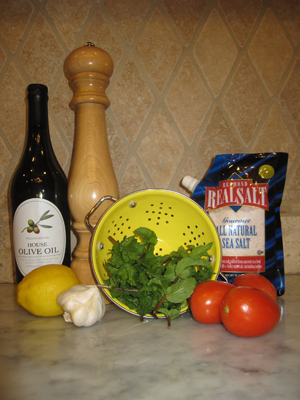 Lebanese Salad Dressing