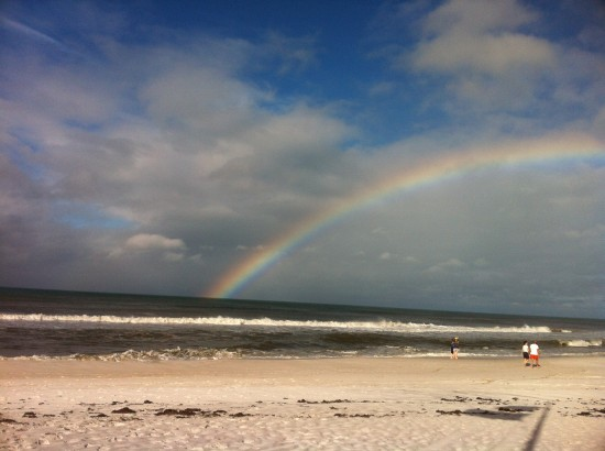 tropical storm debby rainbow