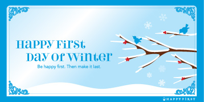 First Day of Winter Ecard