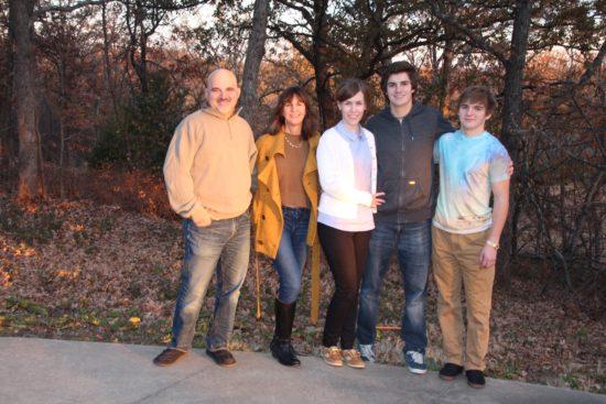 Thanksgiving 2014-Randy, me, Katie, Nick,& Dan